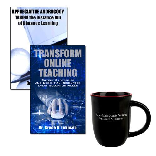 Educator Bundle #3: Transform Online Teaching & Appreciative Andragogy Educator Bundle [Plus Bonus]